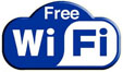 Free wireless internet during the jurney