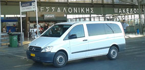 Thessaloniki airport taxi transfer